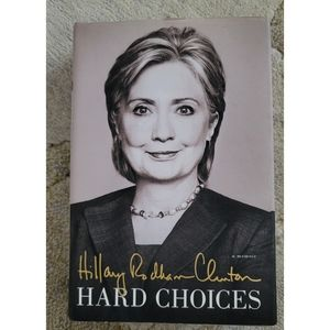 "Hillary Clinton ""HARD CHOICES"" BOOK"